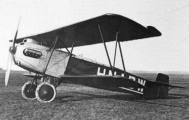 Самолет-разведчик fokker c.iv.