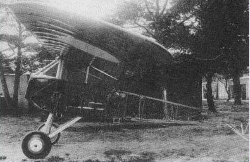 Самолет-разведчик «моран-парасоль» ольховского.