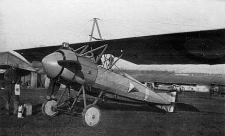 Самолет-разведчик morane-saulnier type p.