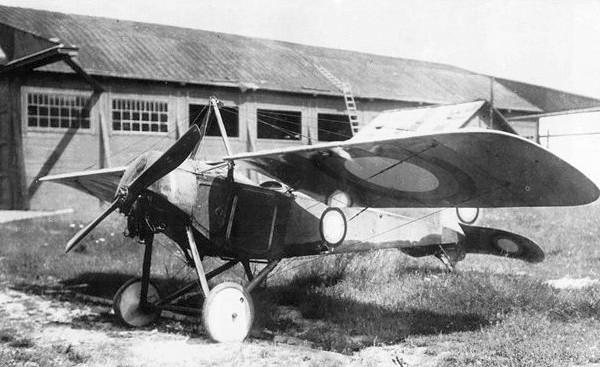 Самолет-разведчик «моска мб» («моска-быстрицкий», «мб»).