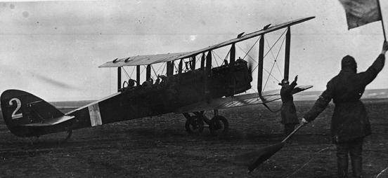 Самолет-разведчик р-1.