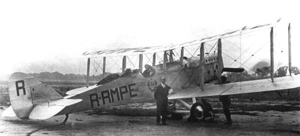Самолет-разведчик р-2.