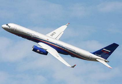 Самолет-разведчик специального назначения ту-214он (открытое небо).