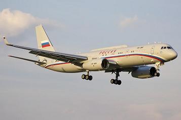 Самолет-ретранслятор ту-214ср.