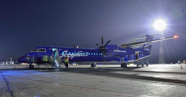 Самолет синего цвета. синий самолет фото.
