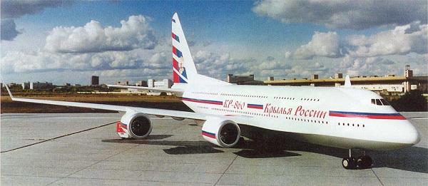 Самолет сухого кр-860. фото. история. характеристики.