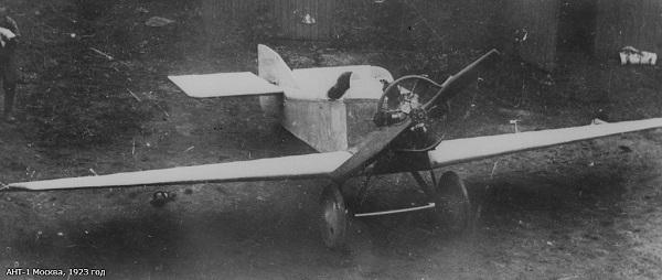 Самолет туполев ант-1. фото. история. характеристики.