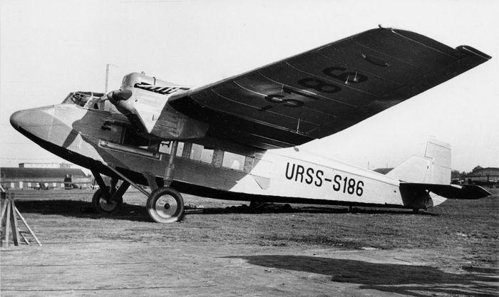 Самолет туполев ант-14. фото. история. характеристики.