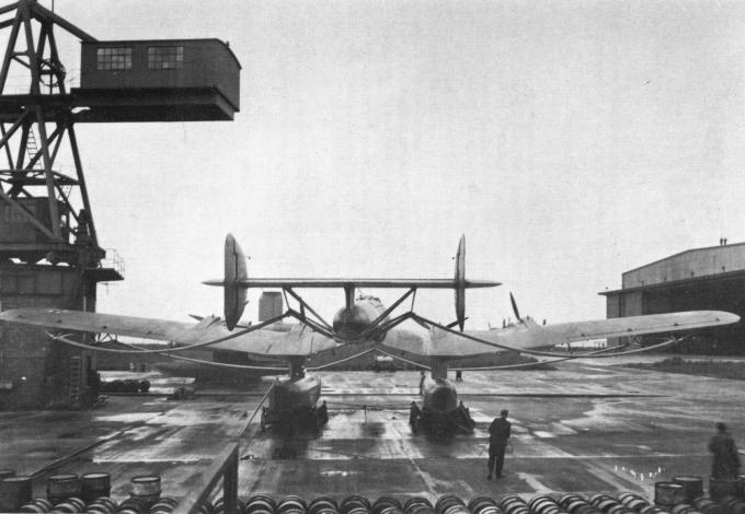 Самолеты для полетов через атлантику. поплавковые гидросамолеты blohm und voss ha 139. германия. часть 3