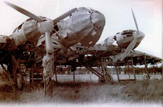 «Самолеты-призраки» люфтваффе