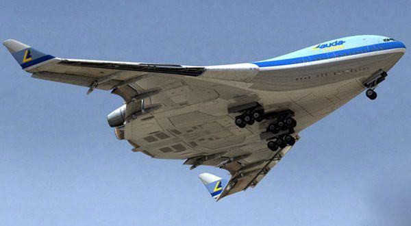 Самолёт без хвоста. от чертежей к первым прототипам