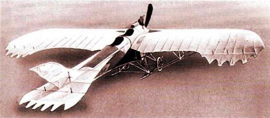 Самолёт «гаккель ix».