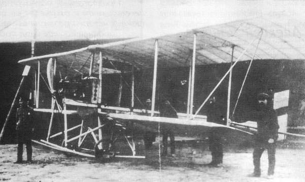 Самолёт «гаккель vi».