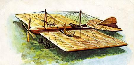 Самолёт можайского.