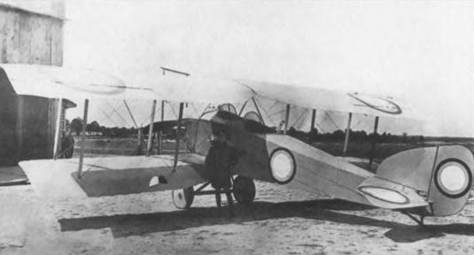 Самолёт-разведчик анатра «анаде» (анатра-д, «анатра» тип д, «декан»).