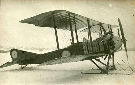 Самолёт-разведчик «лебедь.хii».