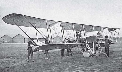 Самолёт-разведчик с-10.