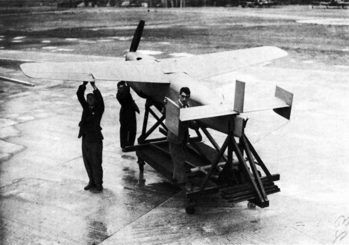 Самолёт-снаряд miles «hoopla-projekt». великобритания