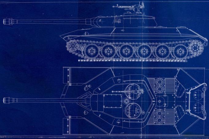 Самый первый ис-7. проект тяжелого танка объект 257. ссср