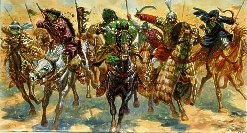 Сарацинская европа - абд ар-рахман, победитель франков и покоритель рима.