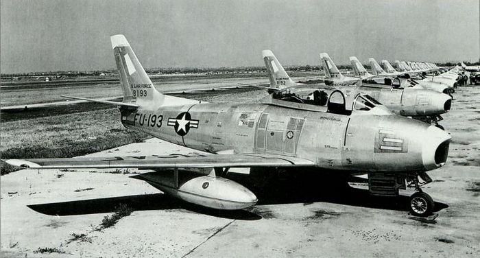 Секретные разработки f-86 sabre