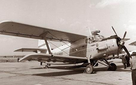 Сельскохозяйственный самолет ан-2м.