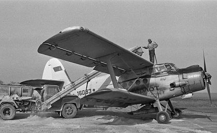 Сельскохозяйственный самолет ан-2сх.