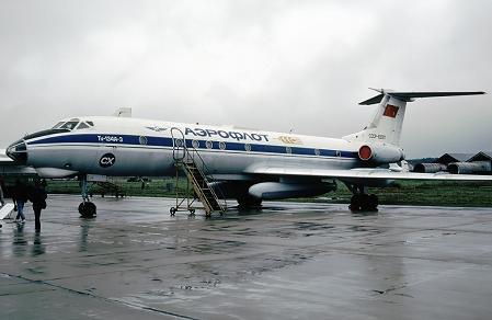 Сельскохозяйственный самолет ту-134сх.