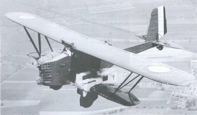 Семейство опытных бомбардировщиков-истребителей-разведчиков breguet 410-414. франция