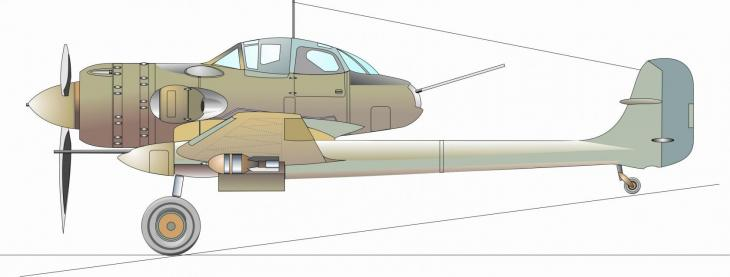 Шайтан ерба, история одного ударного самолета