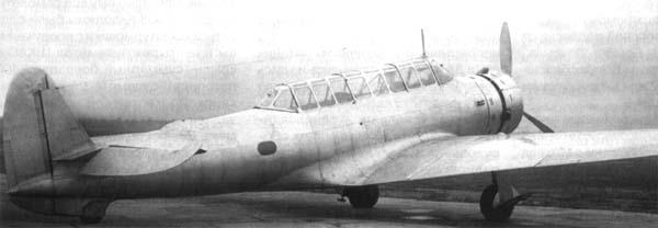 Штурмовик-бомбардировщик бш-1.
