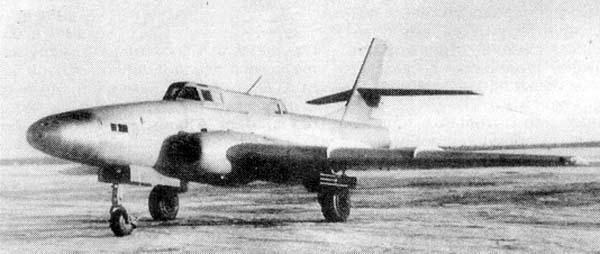Штурмовик ил-40.