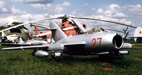 Штурмовик миг-15бис (иш).