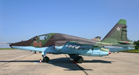 Штурмовик су-25т.