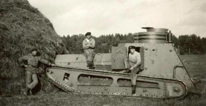 Шведские танки отто меркера