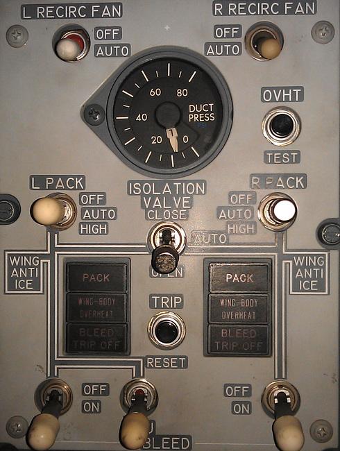 Система кондиционирования самолета. вентиляция самолета.