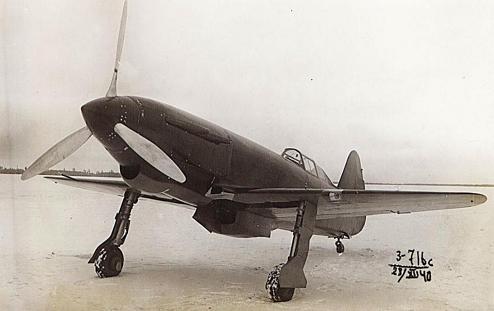 Скоростной истребитель ск-2.