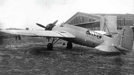 Скоростной самолет-разведчик р-9 (ср; цкб-27).