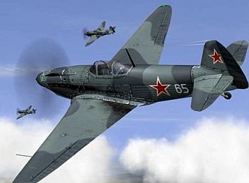 Советские лётчики в боях за днепр