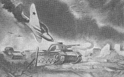 Советские лётчики в сталинградской битве