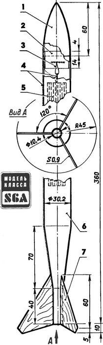 Советы по изготовлению модели ракеты класса s3a, s6a