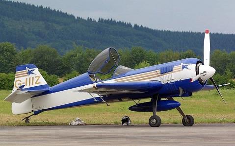 Спортивно-пилотажный самолет су-26.