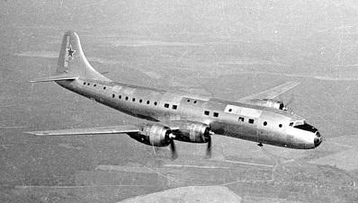 Среднемагистральный пассажирский самолет ту-70.