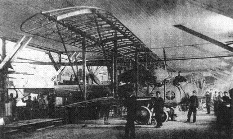 Средний бомбардировщик (истребитель сопровождения) лебедь.хiv «гранд» («лебедь-гранд»).