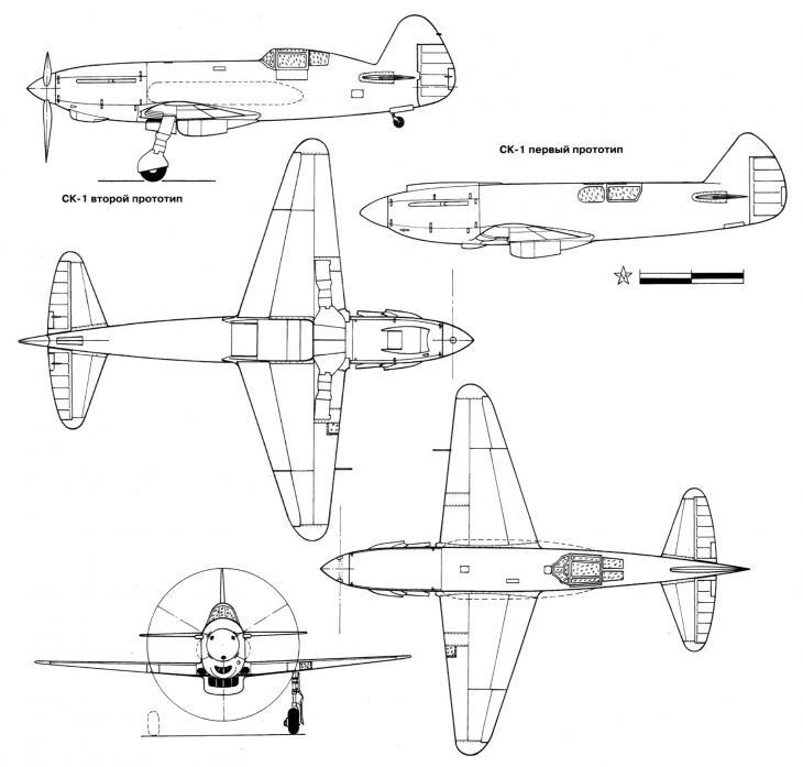 Сталинские крылья бисновата. рекордный самолет ск-1 и опытные истребители ск-2 и цаги ис