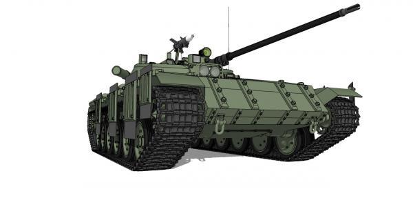 Старый дракон на белом песке или альтернативный танк ит-1