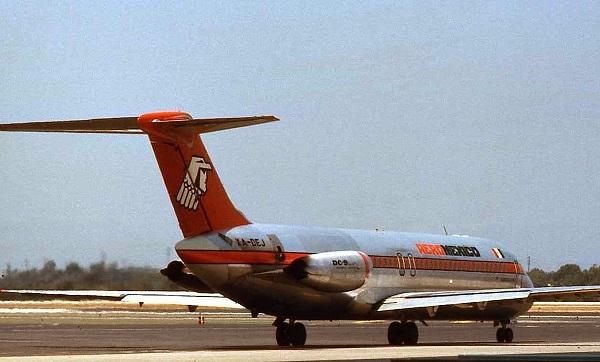 Столкновение над лос-анджелесом dc-9 aeromexico и частного piper cherokee