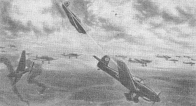Страница боевой летописи советской авиации