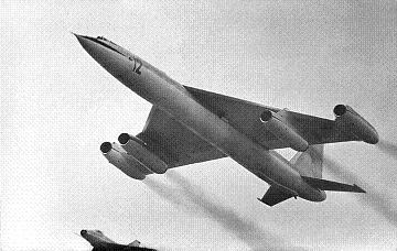 Стратегический бомбардировщик м-50.