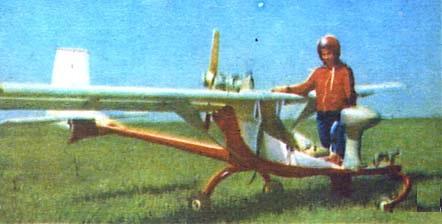 Сверхлегкий самолет а-6 «белый».